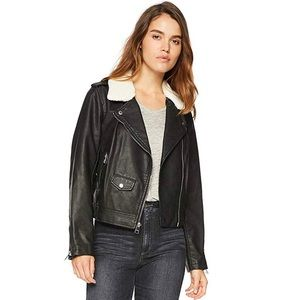 Levi's Belted Asymmetrical Motorcycle Jacket